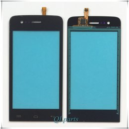 "Wholesale Touch Screen Phone Replacement Glass - Wholesale- 4.0"" Mobile Phone Touch Panel Front Glass Len For Explay Hit Touch Screen Digitizer Sensor Replacement Touchscreen Free Shipping"