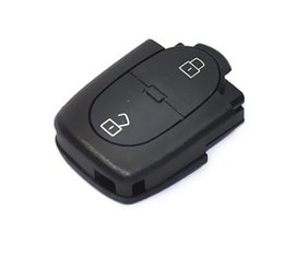 Wholesale Audi Key Remote Button - High Quality 2 Button Remote Control 433.92MHZ 4D0 837 231 R 4D0837231R Remote Key For Audi+Free shipping