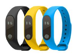 Wholesale Oled Display Bracelet - M2 Heart Rate Smart Wristbands Band Smart Bracelet Bluetooth 4.0 Smartband Fitness MI2 Miband Wristband 2 with OLED Display