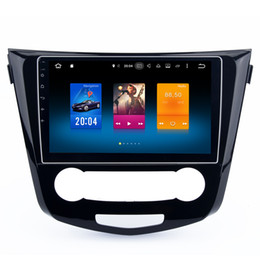 "Wholesale Nissan Mirrors - 10.2"" Octa Core Android 6.0 System Car DVD Head Unit For Nissan Qashqai GPS Navi Receiver BT OBD DVR WIFI 4G 3G Mirror Screen 2G RAM 32G ROM"