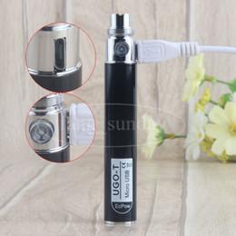 E Cigs Vaporisateur Stylo 510 eGo Thread Micro USB Passer À travers 650 mAh UGO T Vape Batteries Mini boîte blanche packs à vendre ? partir de fabricateur