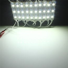 Wholesale Led Module Light Strings - Wholesale-New Arrival Durable 10pcs 5050 SMD 3 LED Module LED Strip String Light Lamp Multi Colors Waterproof IP68 DC12V