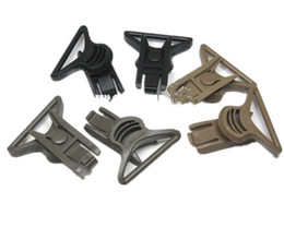 Wholesale Helmet Side Rail - Wholesale- OPS-CORE Goggle Swivel Clips side rails goggles helmet buckle (36mm)