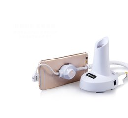 mobile phone charging stands Australia - micro usb Type C lightning cable smartphone anti theft alarm and charge for universal mobile phone RETAIL SECURITY DISPLAY STAND WITH LCD