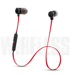 Wholesale Mp3 Roses - Bluetooth Earphones Wireless High Quality Brand Noise Cancelling Stereo Bass Bluetooth Headphone Headset for phone Mp3 Music Play