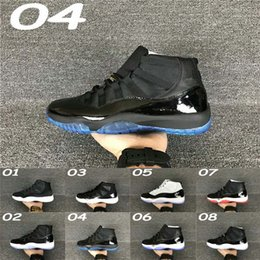 Wholesale High Top Men S Shoes - Cheap high top Retro 11S White Black Dark ConcordS 11 Sports Shoe 11's Concord Basketball Shoes Men Athletics Sneaker Boots free ship
