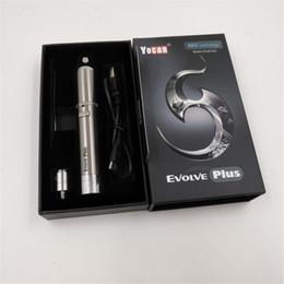 Wholesale Wax Kits - Yocan Evolve Plus Kit 1100mAh Battery Wax Vaporizer Whit Quartz Dual Coil Stealth Dab Vape Pen