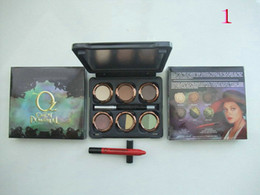 Wholesale Eyeliner Palette - Free Gift!!!NEW Makeup Oz The GREAT AND POWERFUL Theodora Palette Lipstick pen+ 6 color Eye Shadow+ Eyeliner