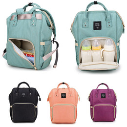Wholesale Diaper Mummy Bags - 13 Colors Mummy Backpacks Diaper Bags Oxford Fabric Waterproof Mother Maternity Outdoor Nursing Travel Organizer Changing Bags