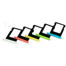 Wholesale Iphone Spares - For iPhone 5 5s 5c 5SE 6 6plus 6S 6s Plus 7 7 PLUS SIM Card Tray Holder Slot Replacement Spare Repair Parts