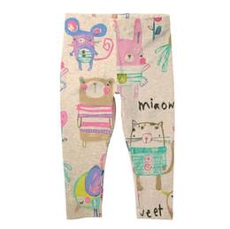 Wholesale Little Summer Girls Leggings - New ArrIval Little Maven girls Kids leggings tights child 100%Cotton cartoon print pants tights causal elegant girl child trouser 2632