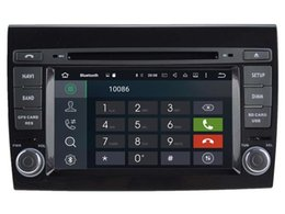 Wholesale Dvd Fiat Bravo - Navirider new octa core android 6.0 car dvd player audio for Fiat Bravo 2007-2013 gps navi radio stereo 3G wifi dvr headunit tape recorder