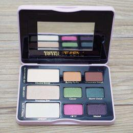 Wholesale Cute Makeup Brand - Brand New Totally Cute EyeShadow Palette Makeup 9-color eyeshadow DHL free Cosmetics
