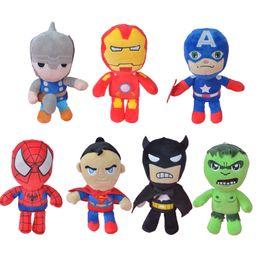 Wholesale Avengers Stuffed - Whole Sale 28cm Cartoom Image The Avengers Stuffed Plush Toy, Movie Action Figures Kids Doll Gift Free Shipping