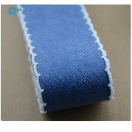 40mm 25mm coton ruban denim automne hiver ruban à la main ruban bricolage arc accessoires rubans 5yard / lot ? partir de fabricateur