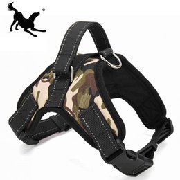 Prodotti per animali domestici per cani di grandi dimensioni Harness k9 Glowing Led Collar Cucciolo di piombo Animali Gilet Dog Leads Accessori Chihuahua PY0007 da