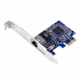 Placa de rede Broadcom BCM5751 Gigabit Desktop PCI Express Placa de rede PCI-e Mini-Card 10/100 / 1000M Broadcom de