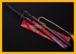 Wholesale Antique Japanese Swords - COLLECTION SWORD for decorate Full Tang 100% Handmade Black Blade DAMASCUS Folded Steel Japanese Samurai Katana Ninja Sword Ninjato #216
