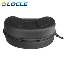 Wholesale Women Motocycle - Wholesale- LOCLE Ski Goggles Glasses Motocycle Glasses EVA Protection Case or Box