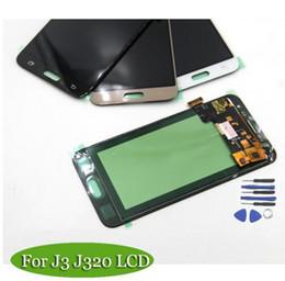 2019 telaio nexus Compatibile per schermo LCD Samsung Galaxy J3 Schermo J320 J320M J320F LCD Touch screen con montaggio digitalizzatore