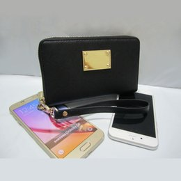 Wholesale Pu Leather Credit Card Holders - fashion women wallet PU leather wallet Short zipper design girl Synthetic leather purse with wrist without box
