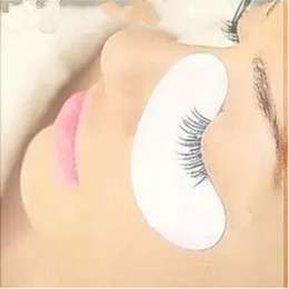 Wholesale Eye Pads For Extension - 200pairs under eye pads the thinest lint free Eye Gel patches for eyelash extension from south korea Free shipping