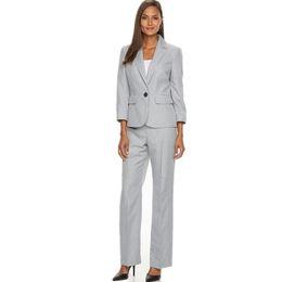 Wholesale Women S White Tuxedo Jacket - Women Tuxedos Lapel Suits For Women Custom made Fashion one Button Business Women Suits jacket+pants two-piece