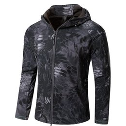 Wholesale Tad Skin Soft Shell - Shanghai Story Top Quality Gear Lurker Shark skin Soft Shell TAD V 4.0 Military Tactical Jacket Army Clothing