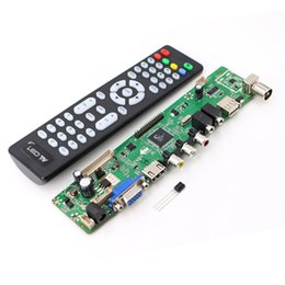 Wholesale Vga Lcd Controller Board - High Quality V59 Universal LCD TV Controller Driver Board PC VGA HDMI USB Interface