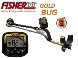 Wholesale Under Ground Gold Detector - Wholesale-High Sensitivity pulse induction gold bug metal detector high depth gold metal detector for silver under ground scanner
