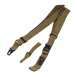 Wholesale Sling System - Tactical 3 Point Rifle Belt Practical Rifle Holder Gun Sling System Kit Hunter Belt Combat Strap