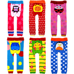 Wholesale Girls Hot Green Pant - New Children PP pants spring autumn children cute pants hot cartoon pattern boy and girl busha PP pants ,72pcs lot