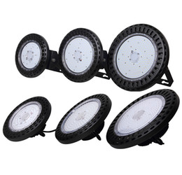 Wholesale Long Life Led Lights - IP65 outdoor water proof 50000 hours long life span 110lm w UFO 100W 120W 150W 200W 240W led high bay light fixtures