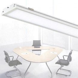 Wholesale Ultra Thin Led Downlights - Ultra thin LED Panel Light 4ft 1200mm 25W batten Tube shaped surface mounted ceiling lamp High brightness 2000Lm Downlights AC85-265V