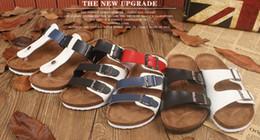 Wholesale Cheap Plus Size Sandals - Wholesale Cheap Casual Women Sandals Slippers Cork Flats Summer Shoes Women Flip Flops Plus Size 35-44