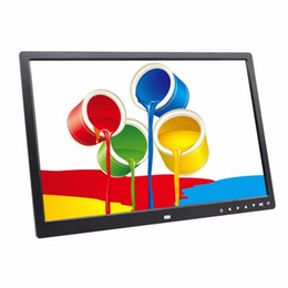 Wholesale Digital Electronic Frames Photo Album - HD 1440*900 64G Digital Photo Frame Electronic Album 17 Inches LED Screen Touch Buttons Multi-language