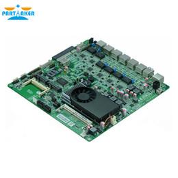 La placa base Firewall N70SL es compatible con el procesador Intel 1037U Dual Core con 6 * USB 2 * COM para 6 LAN Envío gratuito desde fabricantes