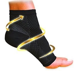 Wholesale Angels Bowls - 2017 NEW Comfort Foot Women Running Cycle Basketball Sports Outdoor Foot Angel Anti Fatigue Compression Foot Sleeve Sock