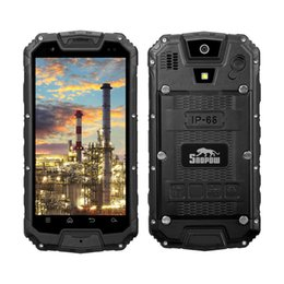 Wholesale Tri Sim Android Smartphone - SNOPOW M9-LTE Ultimate Unlocked 4G Rugged WalkieTalkie Smartphone - Android IP68 Waterproof Outdoor Tri-proof With DualSIM Powerbank PPT NFC