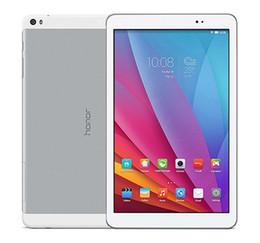 Wholesale Huawei Tablet Quad - Original Huawei MediaPad T1 T1-A21W Tablet Pc 9.6 inch MSM8916 Quad Core 1GB 16GB Emotion UI 3.0