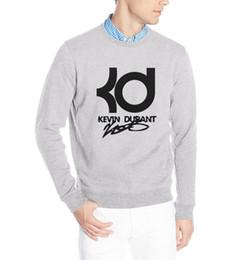 Wholesale Solid Orange Tracksuit - Wholesale-2015 autumn winter Fashion KD star fitness Men fleece brand Sweatshirts Hip Hop streetwear tracksuit Men's hoodies ding