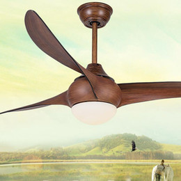 Ventilador de techo remoto LED de 52 pulgadas Minimalista Comedor sala de estar Moderno Light Wave Lámpara colgante con ventilador de techo de 52