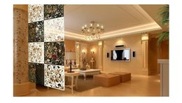 Wholesale Hanging Screen Curtain - Simple hanging fashion partition curtain wall stickers household cutout screen entranceway door pvc film grilles