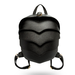 Wholesale Beatles Style - Wholesale- Bailar the beatles shoulder backpacks versatile latest trend pangolin leather travel bags rock men and women couple models bags