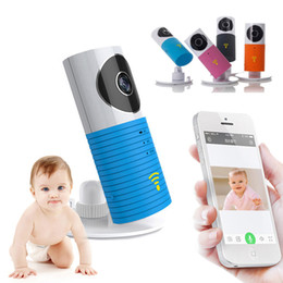Wholesale Wifi Baby Monitor Night - Original Clever Dog DOG-1W Wireless Wifi Baby Monitor 720 Smart IP Camera Intelligent Alerts Nightvision Intercom Wifi Camera Best Quality
