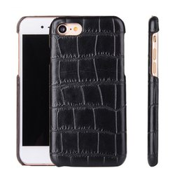 Wholesale Snake Carbon Fiber - Snake Wood Grain Carbon Fiber Case PU Leather Cover for iPhone 7 6 6s Plus Samsung S7 edge LG K10 Sony Z5 With OPPBAG