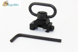 Wholesale Tactical Qd Sling Swivel - Rifle Quick Release Detach QD Sling Swivel Tactical Military Sling Loop with 20mm for Picatinny Rail System