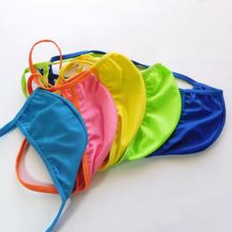Mens G-string pouch Low Rise String Posando Thong Contorno Pouch Triângulo de volta spandex poli G7991 elástico Underwear de Fornecedores de alças de jock atacado