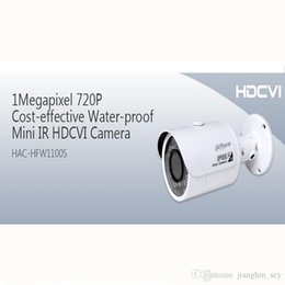 Wholesale Professional Costs - Free shipping Professional Dahua HAC-HFW1100S 1Megapixel 720P Cost-effective Waterproof Mini IR HDCVI Camera for home and hotel