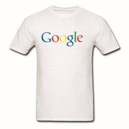Wholesale Fashion Interviews - Advertising Employee Google College Interview Team Men's Fashion Letter Printed T-shirt Screen Tee Shirt Plus Size